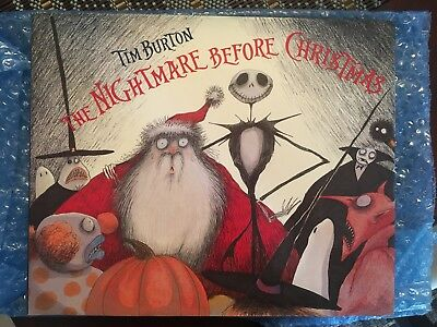 Nightmare Before Christmas Book (1993 Edition) - Great Condition