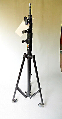 Matthews Studio Equip Triple Riser B-387490 FALCON Light/Heavy Kit Stand +Wheels