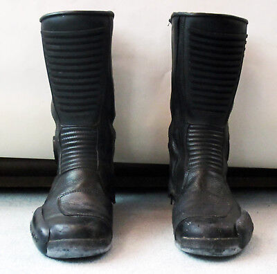 Vintage Teknic motorcycle boots circa 1994 men's size 7 or ladies size 8