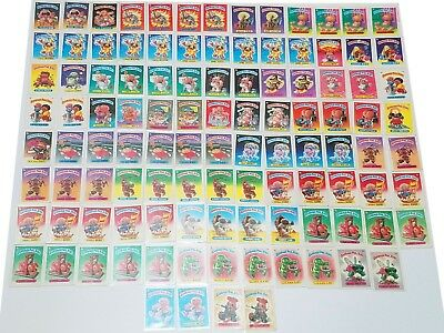 MASSIVE Garbage Pail Kids os 1 1985 lot of 107!!!!!! gpk os1