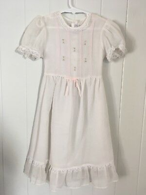 Vintage Childrens 1950s 1960s Girls Dress