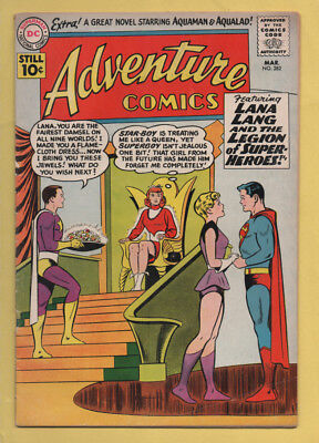 Adventure Comics #282 March 1961, DC, 1938 Series FN-