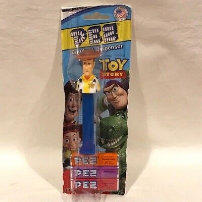 PEZ - Woody - Toy Story - Unopened on Card