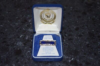 NSW Police Commissioners Olympic Citation