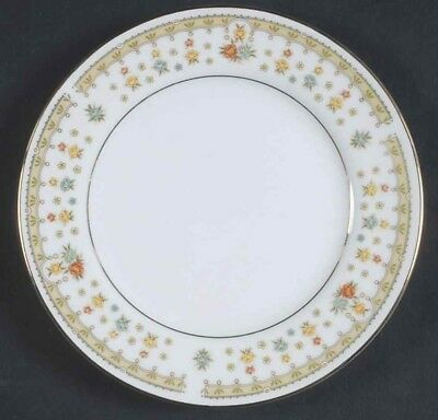 Bread & Butter Plate Garden Bouquet by FINE CHINA OF JAPAN Set of 5 Vintage