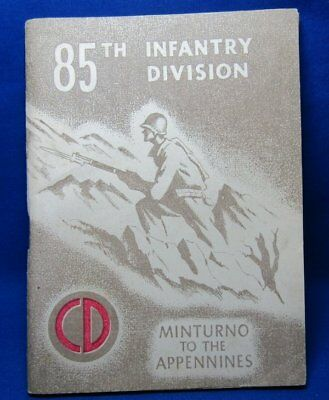 WWII Minturno To The Appennines 358th Infantry Division History Booklet