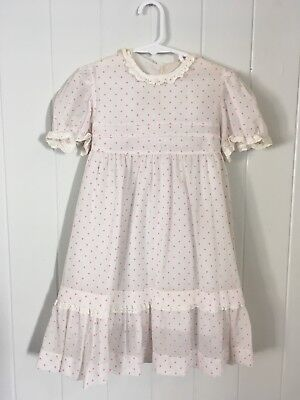 Vintage Children's 1950s 1960s Girls Dress Size 5-6