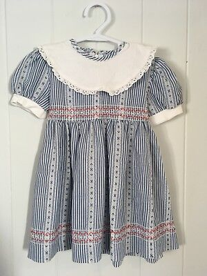 Vintage Childrens 1950s 1960s Girls Dress Size 2