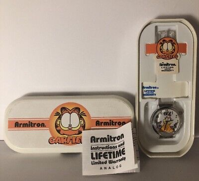 Vintage Armitron Collectible - Garfield Watch