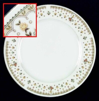 Dinner Plate Garden Bouquet by FINE CHINA OF JAPAN Set of 6 Vintage Retired