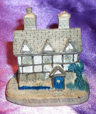 Vintage Miniature Lyons Tetley Cottage Gaffer's Tea Shoppe ~ Estate Collectable