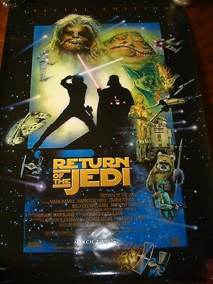 Star Wars Special Edition Poster Collection Plus Episode I Advance Poster Bonus