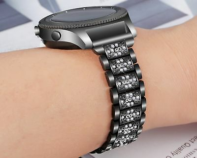 For Samsung Galaxy Gear S3 Frontier/Classic Stainless Steel Strap Watch Band