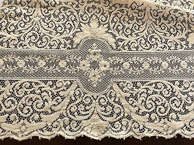 Gorgeous Quaker Lace tablecloth dinner cloth No 2000 with flaws