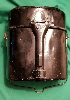 Nice Original WW1 German Steel Mess Kit