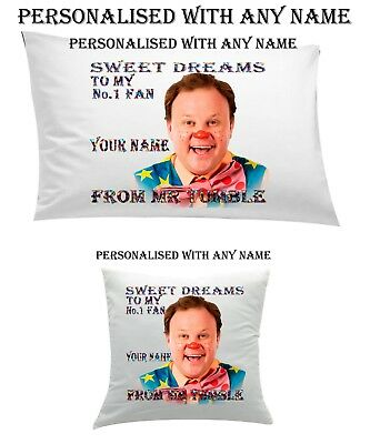 #Mr Tumble Personalised Pillow Case #Cushion, Cover, Personalized Blanket Gift