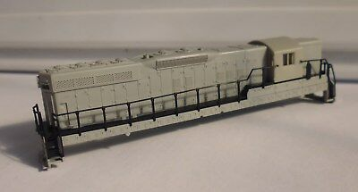 n gauge unpainted body shell for the Atlas SD7 locomotive.