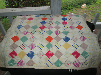 Beautiful Antique Doll Quilt