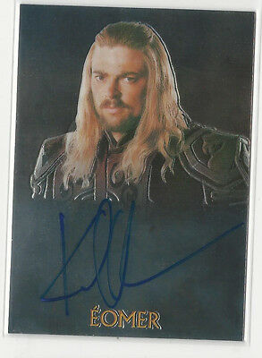 Karl Urban EOMER 2004 Topps Chrome Lord of the Rings Trilogy Autograph Auto