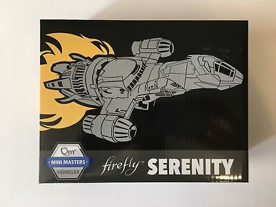 Firefly Loot Crate Serenity Ship Vehicle QmX Mini Masters Little Damn Heroes NEW