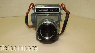 VINTAGE KOMAFLEX-S CAMERA w/ KOWA OPTICAL WORKS PROMINAR LENS 1:2.8 f=65mm