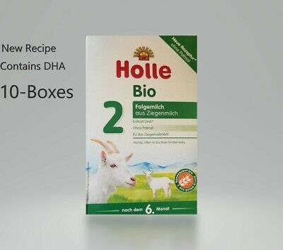 10-Boxes Holle Organic Goat Milk Formula Stage-2 400g FREE SHIPPING EXP-2/2020