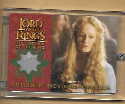 Lord of the Rings   Return of the King  Costume Card  Eowyn's Golden Hall Dress