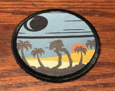 Star Wars Death Star SCARIF Morale Patch Tactical Military Army Badge Hook Flag