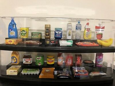 Display Case for Coles collectable Items