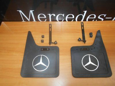 Brand New Genuine Mercedes Left And Right Mud Flaps - W123 - B66528101