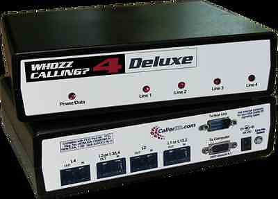 WHOZZ CALLING ? 4 (DELUXE) CALLER ID - New in Box with warranty