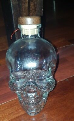 Crystal Head Vodka (empty bottle)