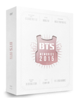 K-POP BTS Bangtan Boys Memories of 2015 DVD 4 Disc Digipak with 108p Photobook