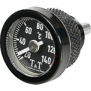 BLACK 542 Engine Oil Temperature Gauge for Kawasaki Versys 1000 Z1000 10-13