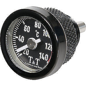 BLACK Engine Oil Temperature Gauge Suzuki GSX1400 GSX1200 GSX1100 GS1100 GSX550
