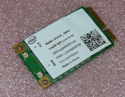 Intel Wireless WiFi Link 5100 Model: 512AN_MMW Netzwerkkarte 802.11a/b/g/n