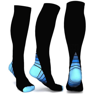Knee Stockings Running Sports High Relief Support Compression Socks Anti-Fatigue