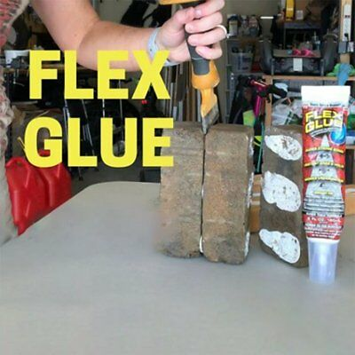 Flex Glue Strong Rubberized Waterproof Adhesive with Instant Grab Pro Formulais