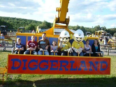 Diggerland 20% off Valid for upto 4 people valid till  31st AUGUST  2018 wow