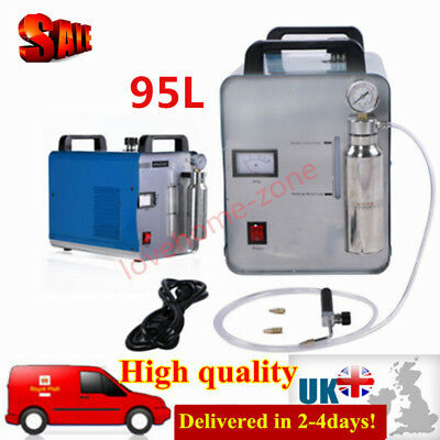 220V 95L Oxygen Hydrogen Water Flame Torch Polisher HHO Acrylic Welder Machine