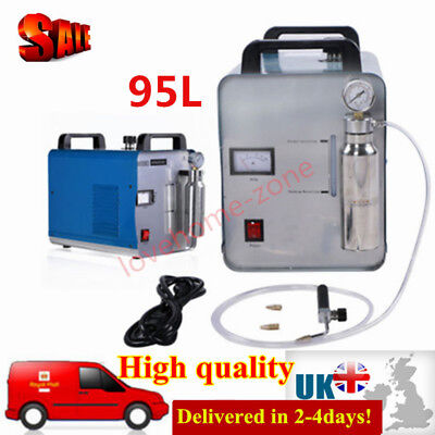 Oxygen-Hydrogen Water Welder Flame Acrylic Polishing Machine Polisher 95L/h UK!
