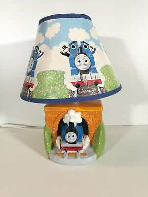 Vintage 80s Thomas the Tank Engine Bedside Table Lamp Kids Childrens Bedroom
