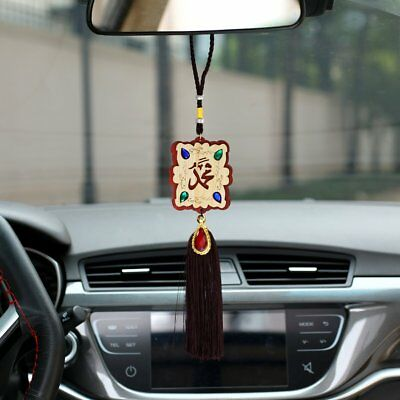 Hand Carved Car Hanging Accessories