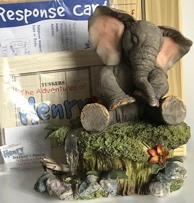 """Tuskers & Henry Musical Rare & Retired, Slight Damage """" Dozzzing """" In Box"""