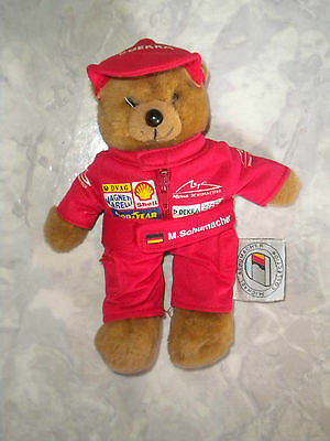 Teddy - Bär * Michael Schumacher *  Collection   #    Original    # wie NEU