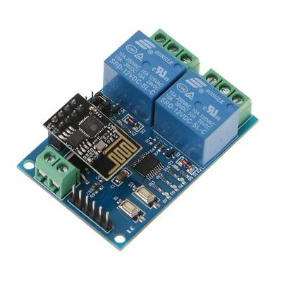 WIFI Relay Module ESP8266 IOT APP Controller 2-Channel For Smart Home 12V