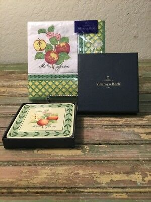 Villeroy & Boch Corkbacked Coasters Luncheon Naphins