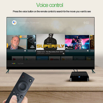 X88 ANDROID 7 1 TV Box 4G 32G RK3328 Quad Core With Voice Control 4K