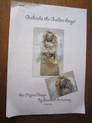 Gabriella The Golden Angel Pattern By Elizabeth Armstrong From 2002