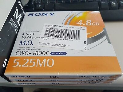 5.25 MO Sony Magneto Optical